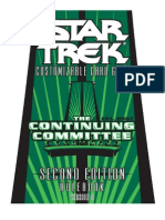 2E Star Trek CCG - Continuing Committee Rulebook V3
