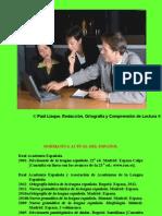 Redacción, Ortografía y Comprensión de Lectura Sesión 1 (Paúl Llaque 2013)