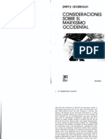 Anderson Consideraciones Sobre El Marxismo Occidental(2)