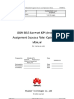 08 GSM BSS Network KPI (Immediate Assignment Success Rate) Optimization Manual