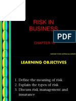 Ch10 (Risk in Business)