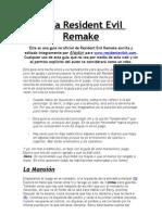 Guia RERemake Con Jill - Alaxtor