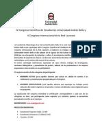 Bases Congreso Científico UNAB