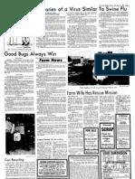 Memories of a Virus Similar To Swine flu (from 1976 Gazette)