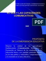 El Dcb y Las Cap. Comunicativas Presentacion 5