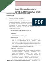 Especidicaciones Tecnicas Estructuras