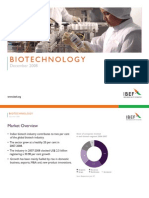 Indian Biotech Industry Presentation 010709