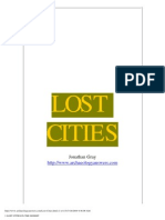 1 Lost Cities in the Desert