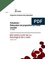 Diagnostic Du Paludisme