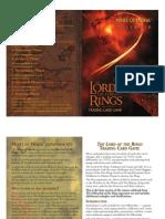 LotR TCG - 2 - Mines of Moria Rulebook