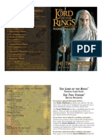 LotR TCG - 4- Two Towers Rulebook Deluxe