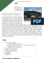 Impacto Ambiental - Wikipedia, La Enciclopedia Libre