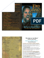 LotR TCG - 5- Battle of Helms Deep Rulebook