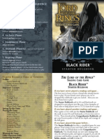 LotR TCG - 12 - Black Rider Rulebook