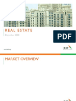 Indian Real Estate Industry Presentation 010709