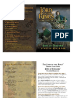 LotR TCG - 6 - Ents of Fangorn Forest Rulebook