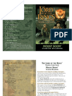 LotR TCG - 10 - Mount Doom Rulebook