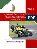 Informe de laboratorio Nº3 de Física completo