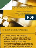 emision de obligaciones - finanzas