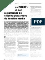 32-38m416 Los nuevos POLIM pararrayos con aislamiento de silicona para redes de tensión media