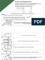 Como Fazer Um Shakuhachi PVC