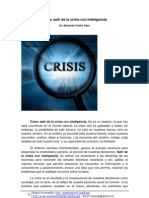 Cómo salir de la crisis con inteligencia