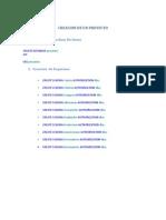 Creacion de Un Proyecto SQL Sript