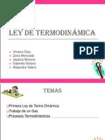 Ley de termodinámica