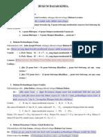 Hukum Dasar Ilmu Kimia