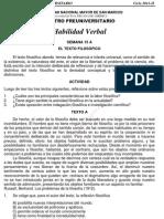 Solucionario – CEPREUNMSM – 2011-II – Boletín 15 – Áreas Academicas A, D y E