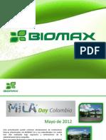 Presentacion Biomax Mila Day Colombia