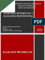 Alcalosis metabólica y Alcalosis respiratoria FINAL