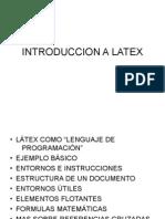 Intro Ducci on a Latex