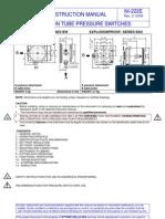 BWXDS 0-2.5 Bar PTB121 English Instalation Manual