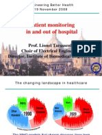 Patient Monitoring in and out of the Hospital