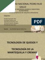Tecnologia de Quesos y Mantequilla