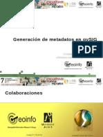 7j-Generacion Metadatos GvSIG