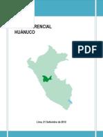 DEPARTAMENTO DE HUÁNUCO