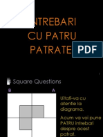 4 pătrate