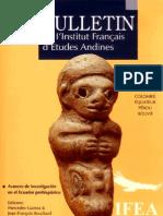 Boletin IFEA Tomo 35 (3), 2006. Avances de investigación en el Ecuador Prehispánico.