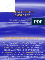 DIAGNOSTICO CLÍNICO DE EMBARAZO FINAL