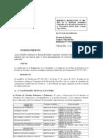 Resolución fecha de Evaluaciones 201310 (vespertino)