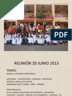 Reunion Junio