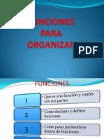 Funciones Tema 6