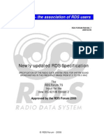 RDS Technical Specification