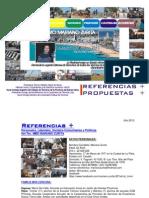 Propuestas de Gestión y Referencias de Mariano Zurita para Elección Defensor del Pueblo 2013