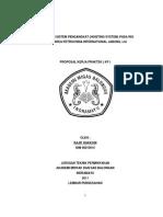 Proposal Hoisting System