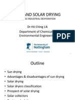Sun and Solar Drying