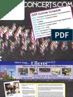 "Gorge Concerts (Read in ""Fullscreen"")"