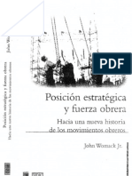 Womack, John -  Posiciones estratégicas y fuerza obrera (ebook)